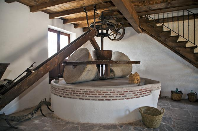 Stone press from the XVIII century