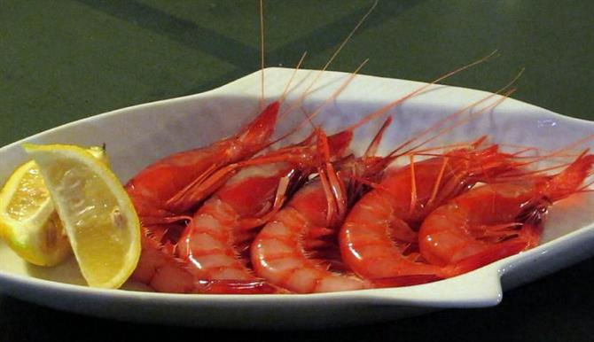 Denia red prawns