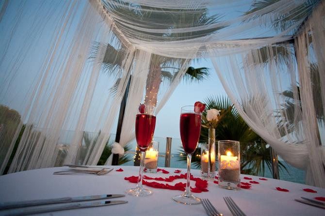 Romantic dinner for two, Mallorca