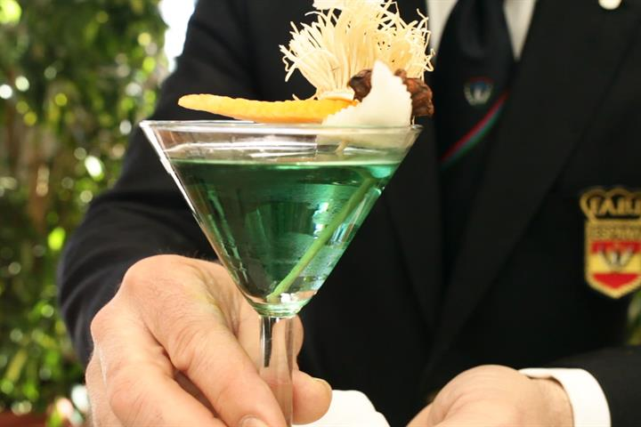 Green Sensations, a winning cocktail
