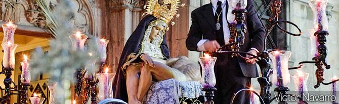 'Our Lady of Sorrow' used in Good Friday Procession