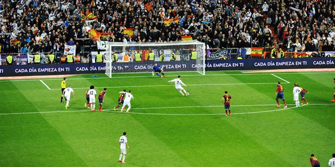 Real Madrid FC Barcelonan peli