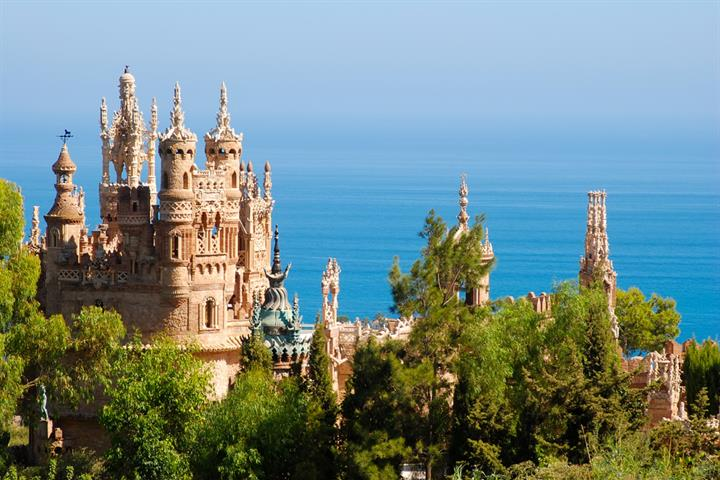 Colomares castle, Benalmadena - a fairytale tribute to a true-life explorer