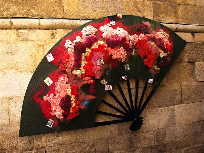 Flower fan, Temps de Flors, Girona