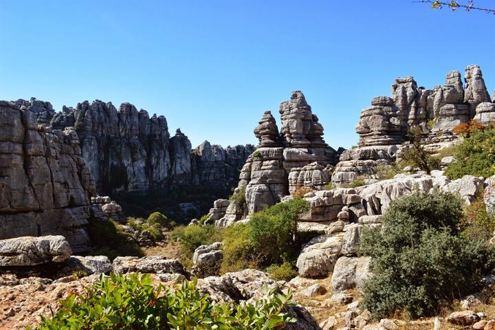 Visiting the El Torcal Natural Reserve Antequera, Malaga