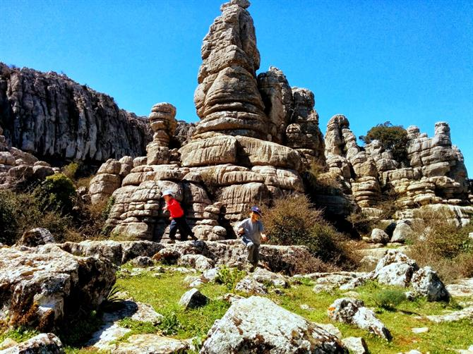 The Torcal, Antequera