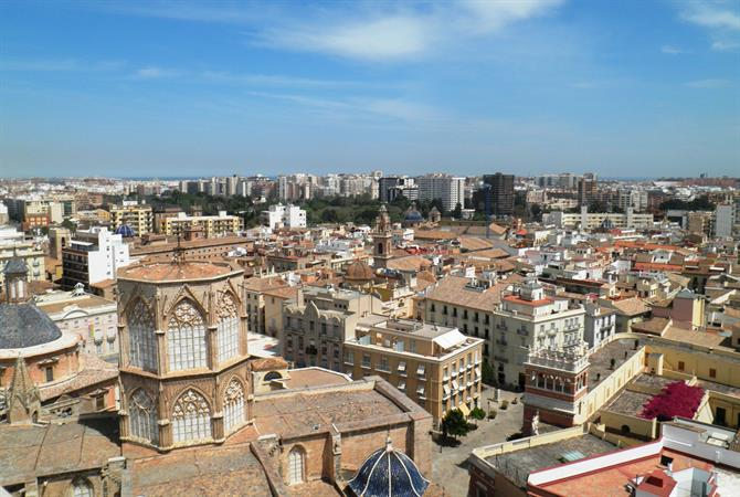 View of Valencia from Miguelete