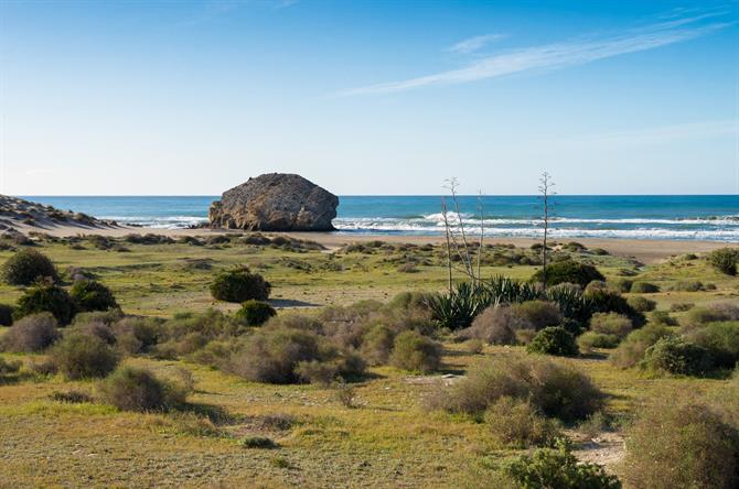 Cabo de Gata - Monsul beach