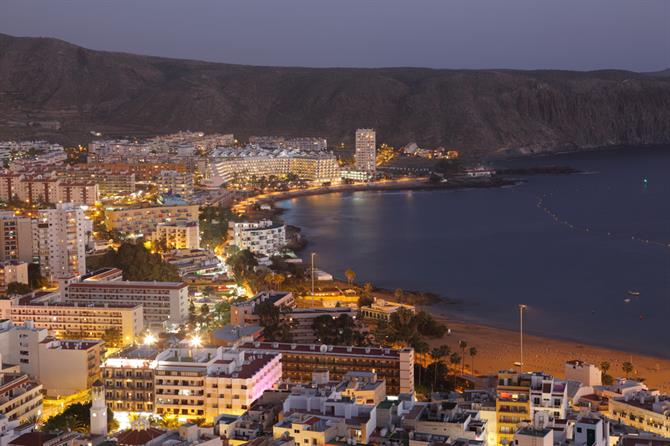 Tenerife - Los Cristianos by night