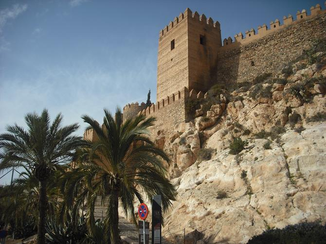 Maurische Burg Alcazaba von Almeria als Sonnspeer in Games of Thrones 6.