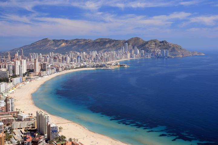 Walking in Benidorm