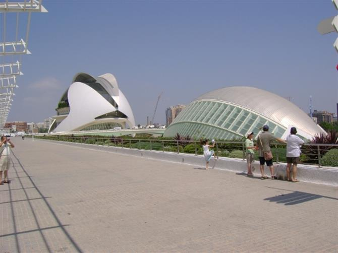 The city of arts and sciences in 2007
