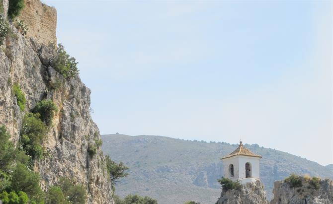 Mountainous Guadalest in the heart of Alicante province