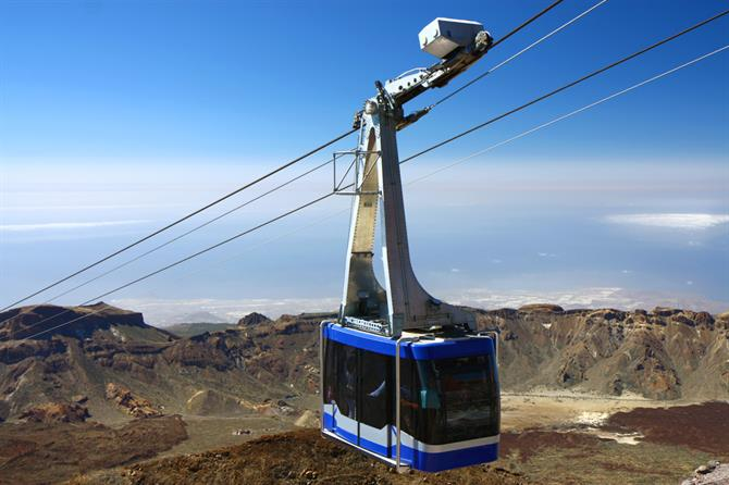 Tenerife - Teide cable car