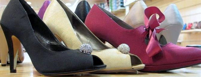Shoes made in Elche and Elda, Alicante