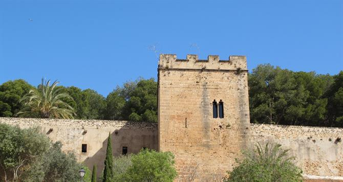 Denia castle in Alicante province