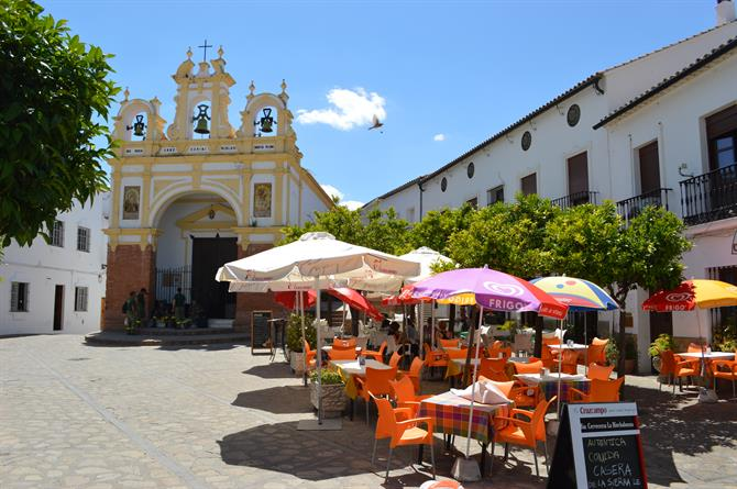 Historic centre in Zahara de la Sierra