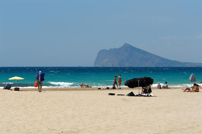 Playa de la Fossa in Calpe