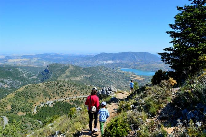 Hiking in the Sierra de Grazalema