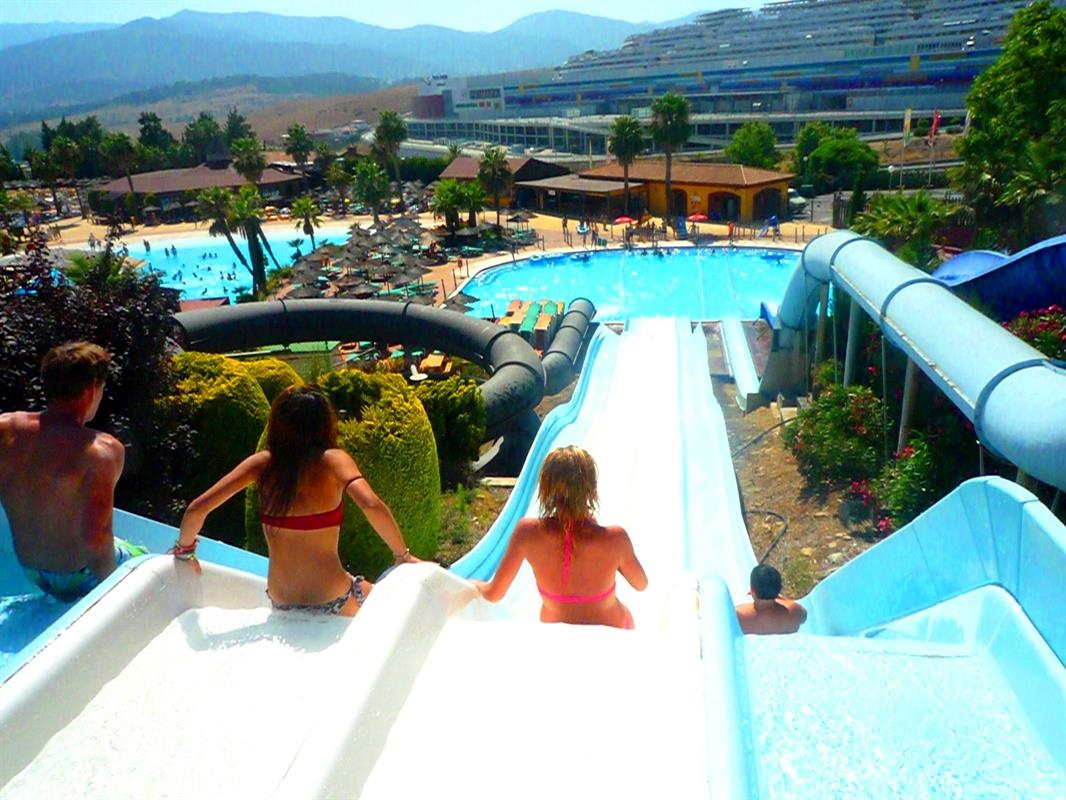 the water parks in malaga costa sol