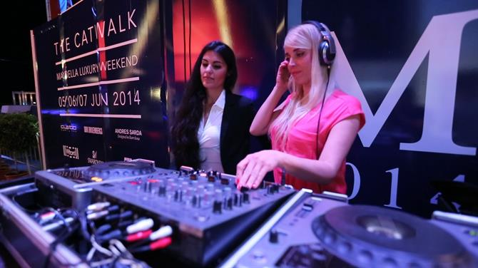 Djs at Marbella Luxury Weekend in Puerto Banus, Marbella