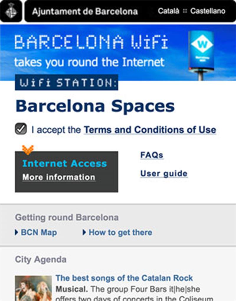 324 places to get free WiFi in Barcelona