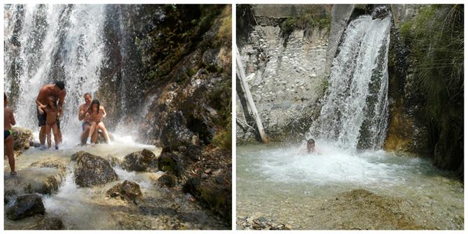 Waterfalls Rio Chillar, Nerja