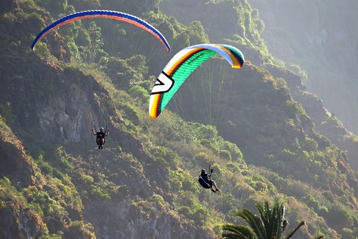 Five extreme sports to try on Tenerife