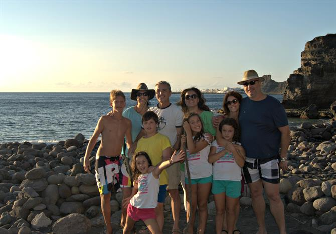 Playa de Guayedra family photo