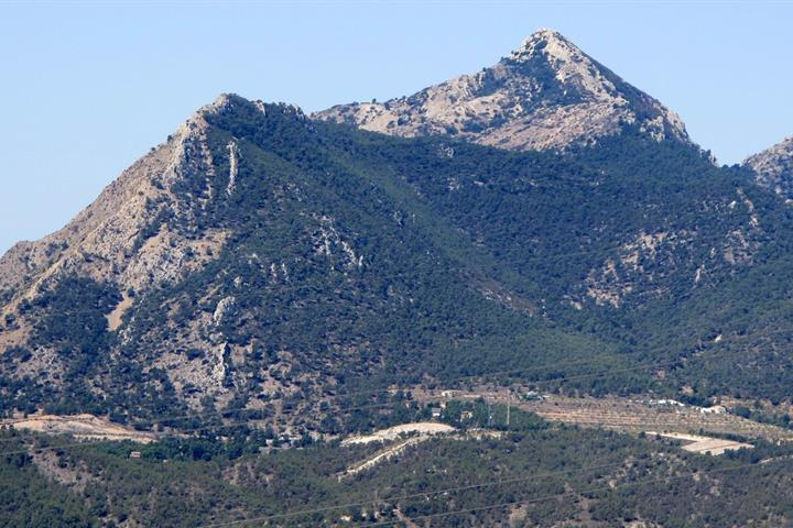 Six favourite mountains in Alicante