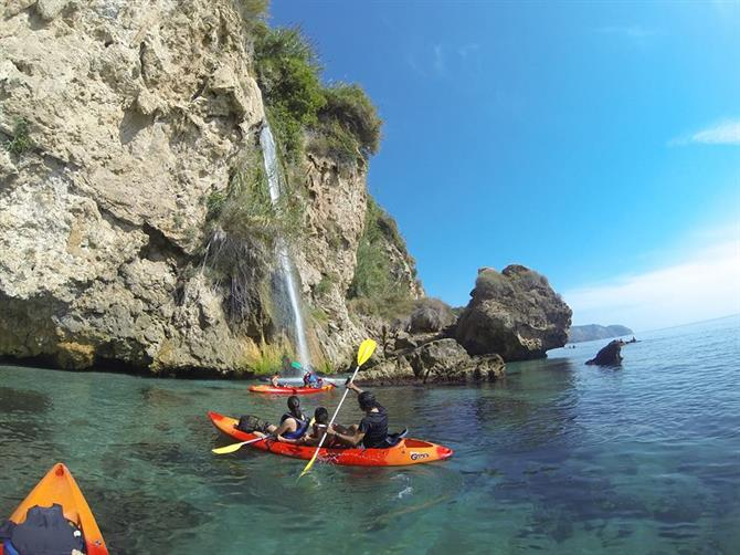 Kayaking in Maro