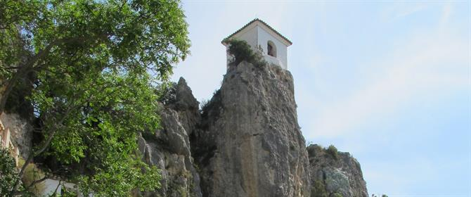 Guadalest bell tower
