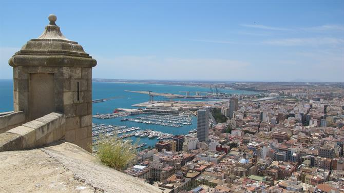 View from Santa Barbara Castle, Alicante