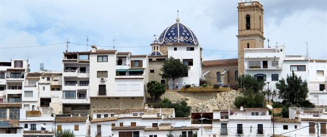 Altea old town, Alicante
