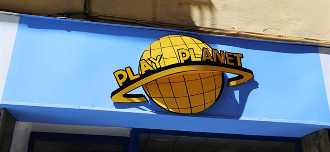 Play Planet, Soho de Malaga - Costa del Sol (Espagne)