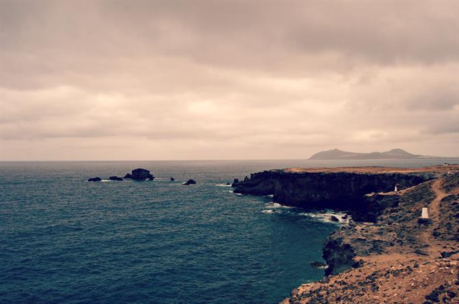 The north coast of Gran Canaria