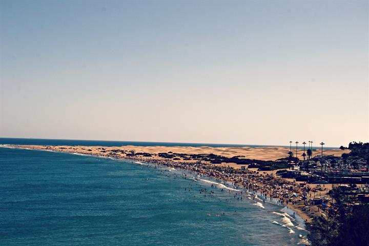 Playa del Inglés, it's not only for the English