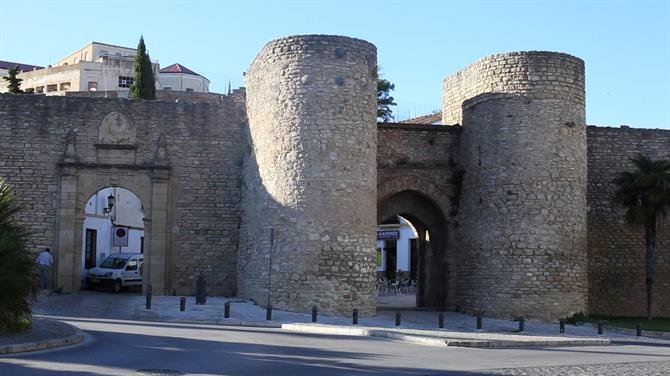 Arabic walls and city gates, Ronda
