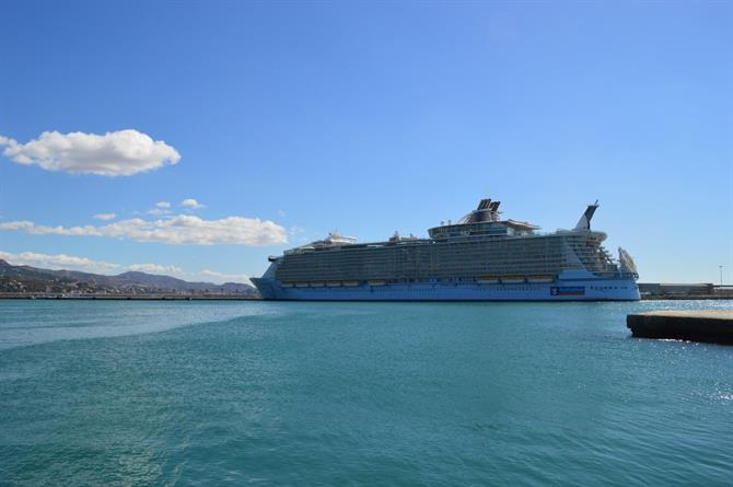 Oasis of the Seas, Malaga - Costa del Sol (Espagne)