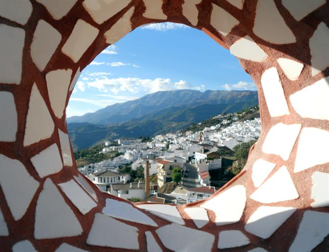 Competa view - White village