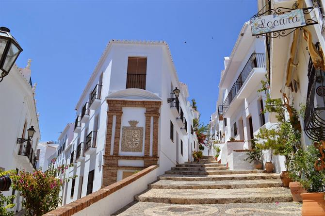 Straat in Frigiliana