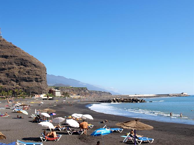 Resort and beach, La Palma, Canary Islands