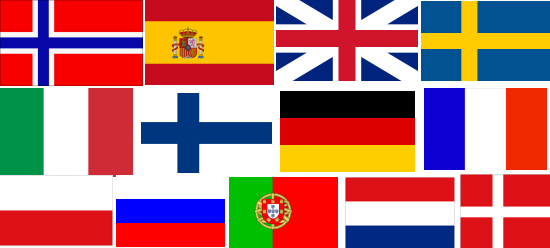 Spain-holiday languages