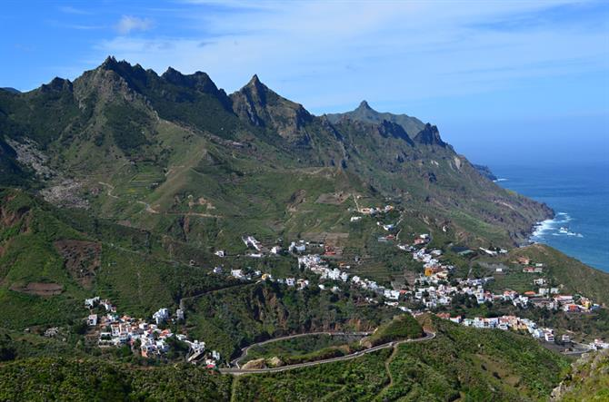 Anaga Mountains, north, Tenerife
