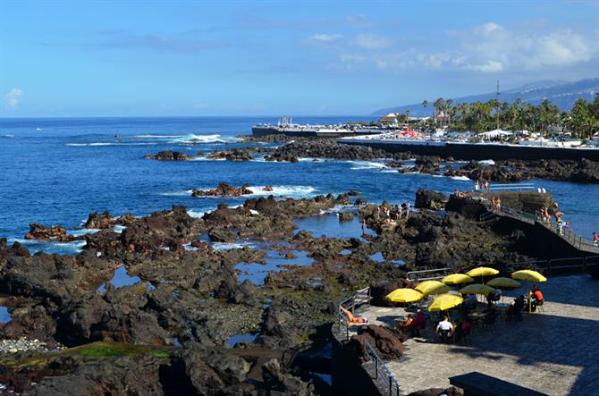 December, Puerto de la Cruz, north, Tenerife