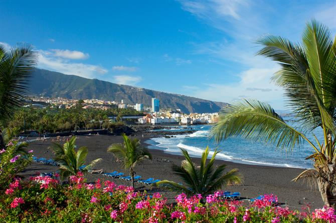 Top 10 Beaches In Tenerife - Playa Jardin