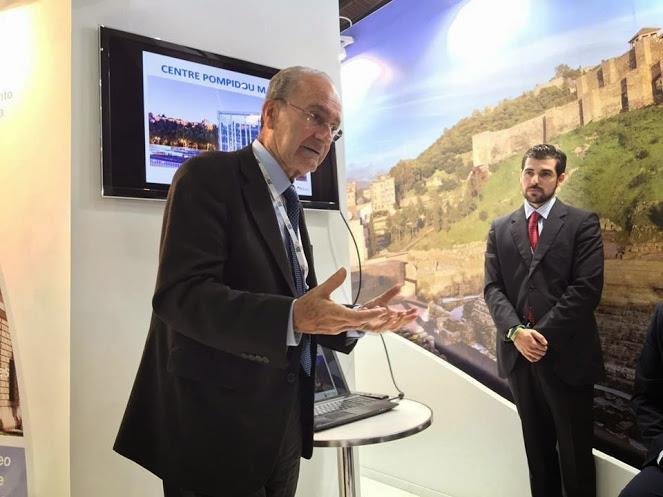 Presentation mayor of Malaga World Travel Market