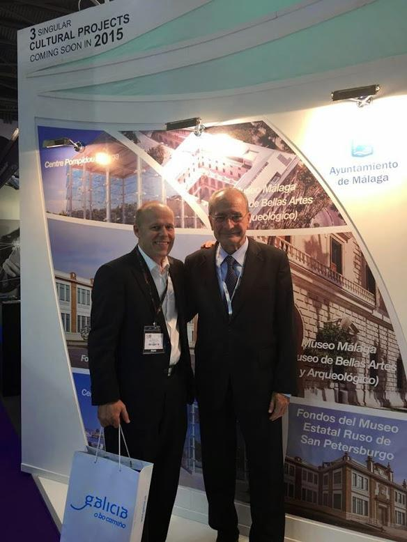 Stand de Málaga en la World Travel Market 2014