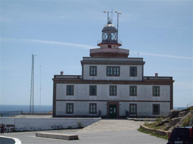 Lighthouse Cap Finisterre, Galicia