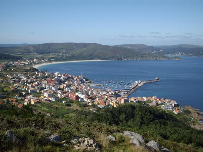 View of Finisterre from the lighthouse, Galicia
